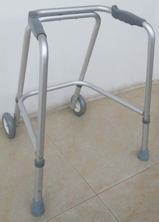 Childs Adjustable Height Wheeled Walking Frame 1
