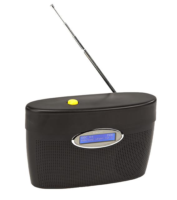 One Button Digital Radio