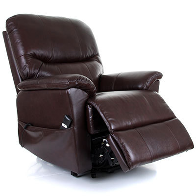Montreal Leather Dual Motor Riser Recliner  sc 1 st  Living made easy & Leather Dual Motor Riser Recliner islam-shia.org