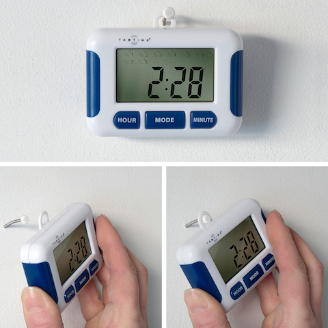 TabTime Timer Pill Alarm Reminder With Eight alarms 2
