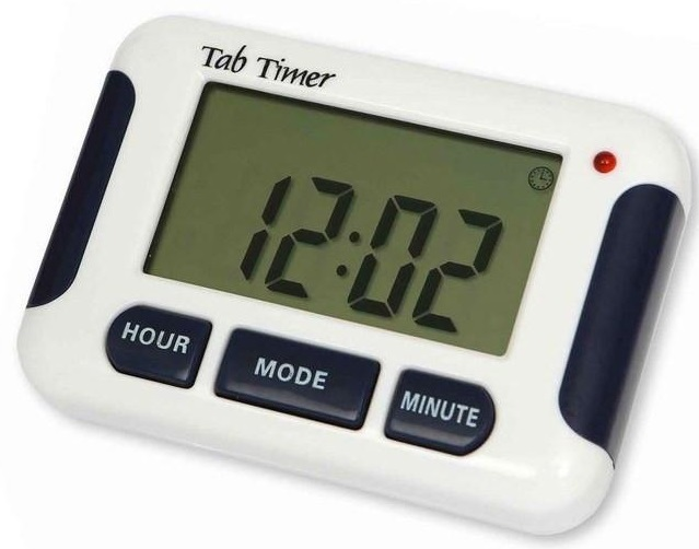 TabTime Timer Pill Alarm Reminder With Eight alarms 1