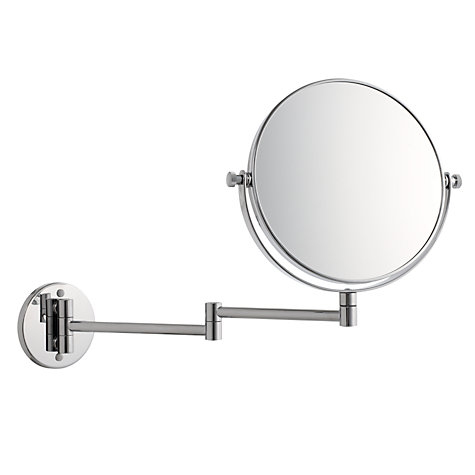 Chrome Extending Magnifying Mirror
