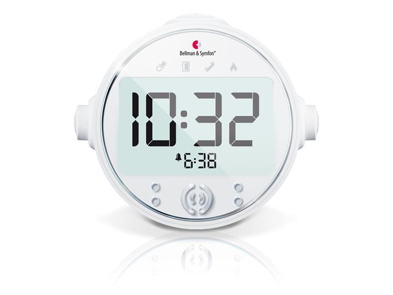 Bellman Visit Alarm Clock Receiver With Bed Shaker 1