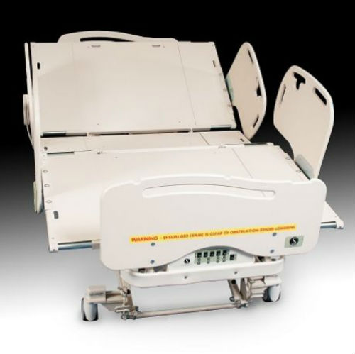 Island At Standard Counter Height Eating Section Dropped: Baros Bariatric Ultra Low Expandable Bed