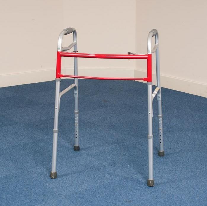 Bariatric Foldable Heavy Duty Walking Frame 2