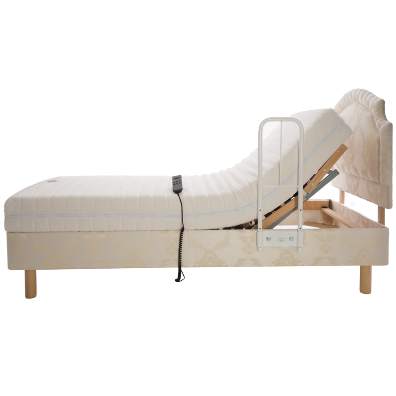 Clamprail Bed Lever - Side Grab Rail for adjustable beds 1