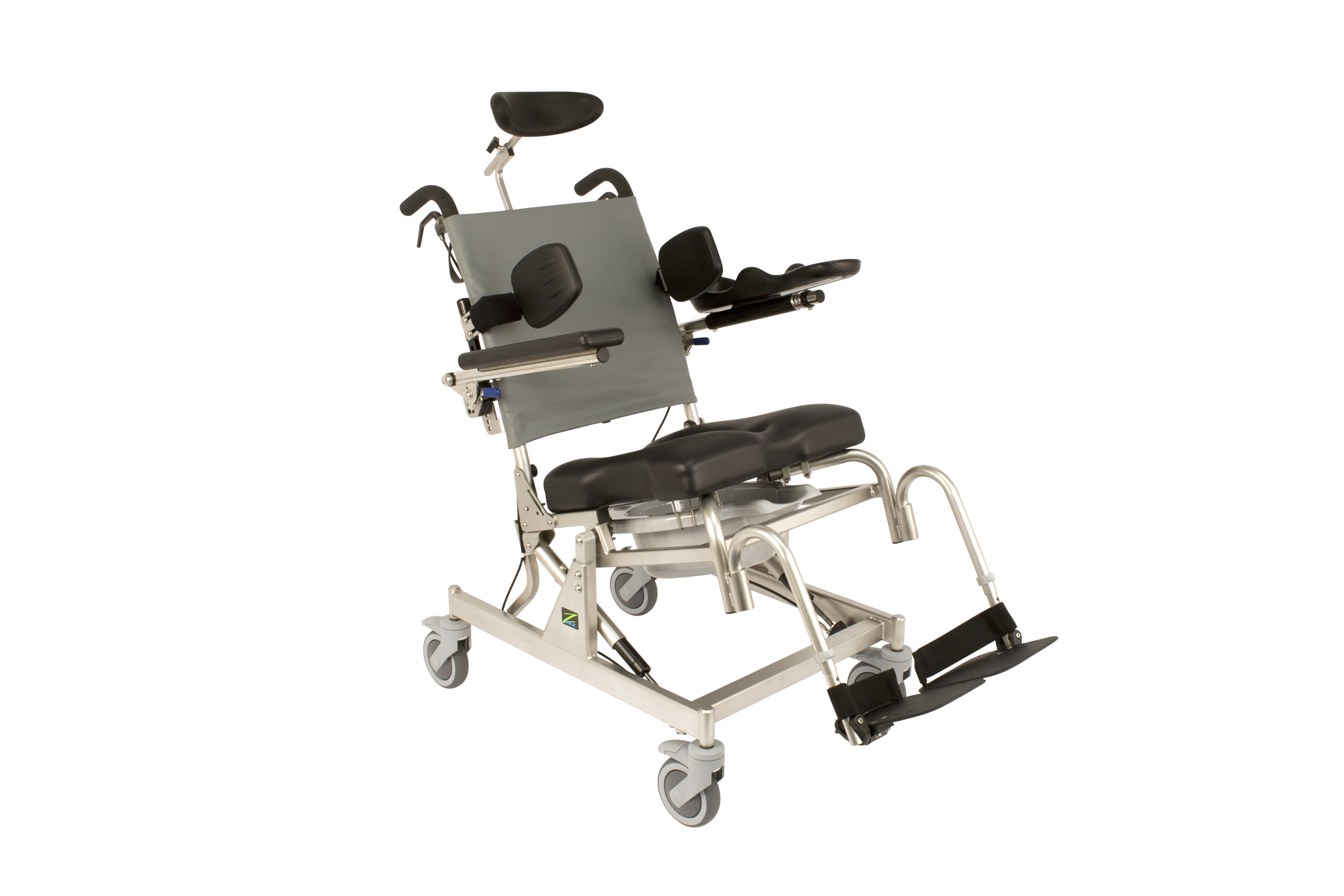 at Rehab Shower mode Chair
