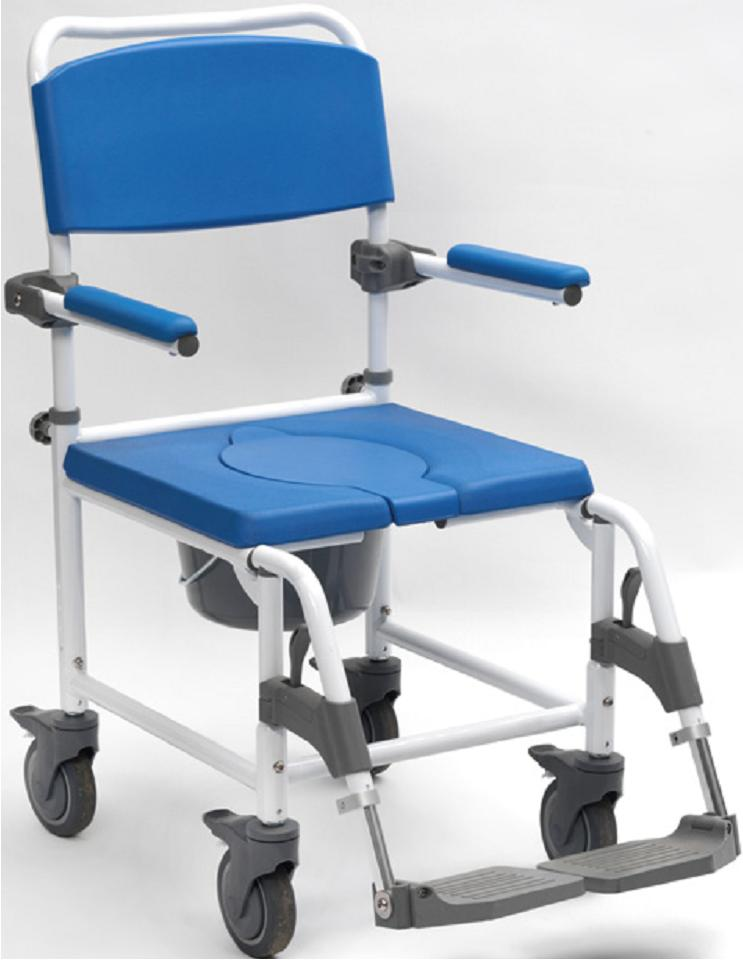 Adaptable Attendant Controlled Shower Commode Chair - Living made easy