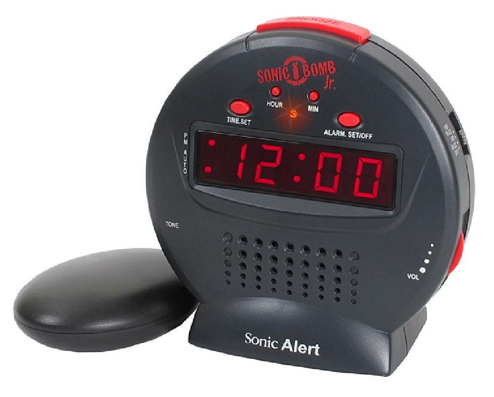 Sonic Bomb Junior Extra-loud Alarm Clock With Shaker Pad 1