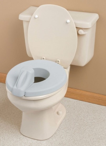 Admirable Deluxe Padded Toilet Seat Reducer Living Made Easy Evergreenethics Interior Chair Design Evergreenethicsorg