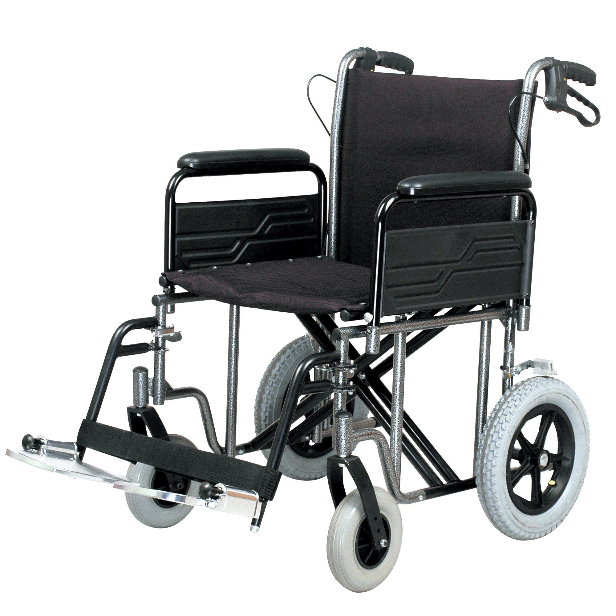 Heavy Duty Car Transit Wheelchair