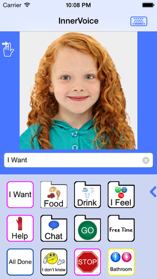 Innervoice Augmentative Alternative Communication App 1