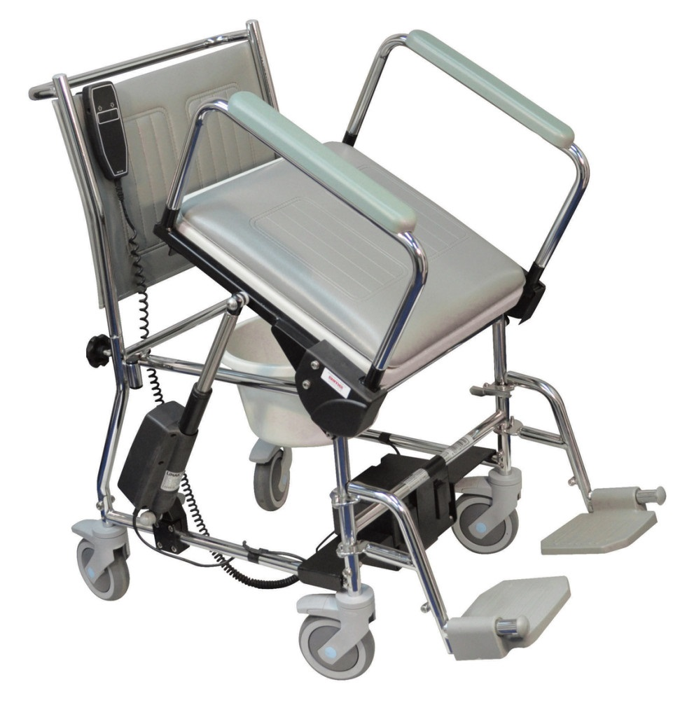 Lift Assist Wheeled Commode Living Made Easy