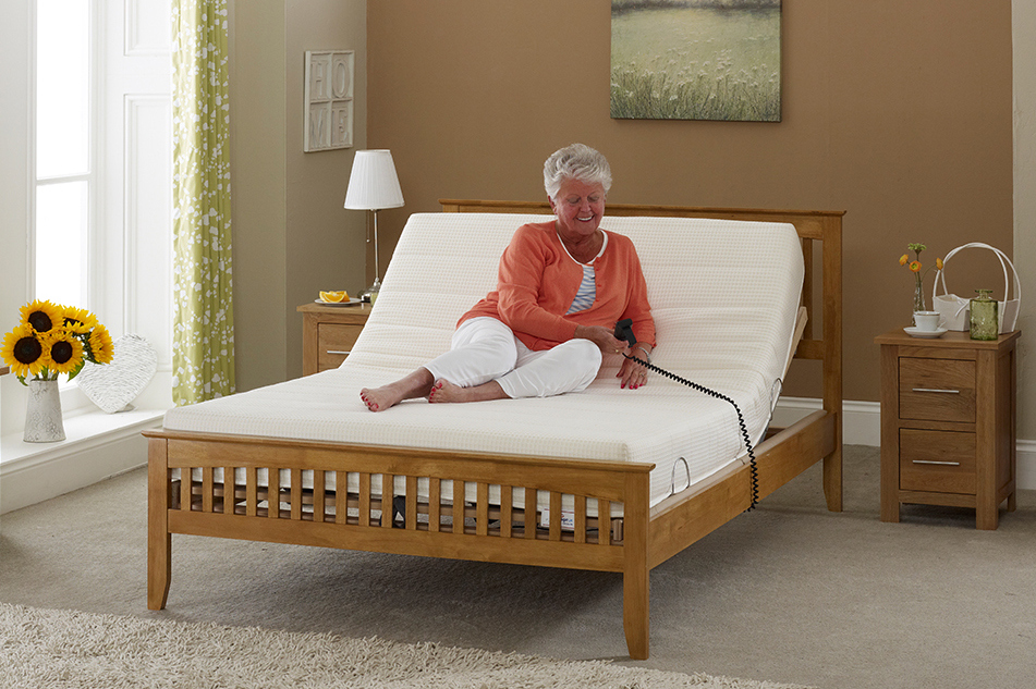 Age Uk Kensington Adjustable Bed Living Made Easy