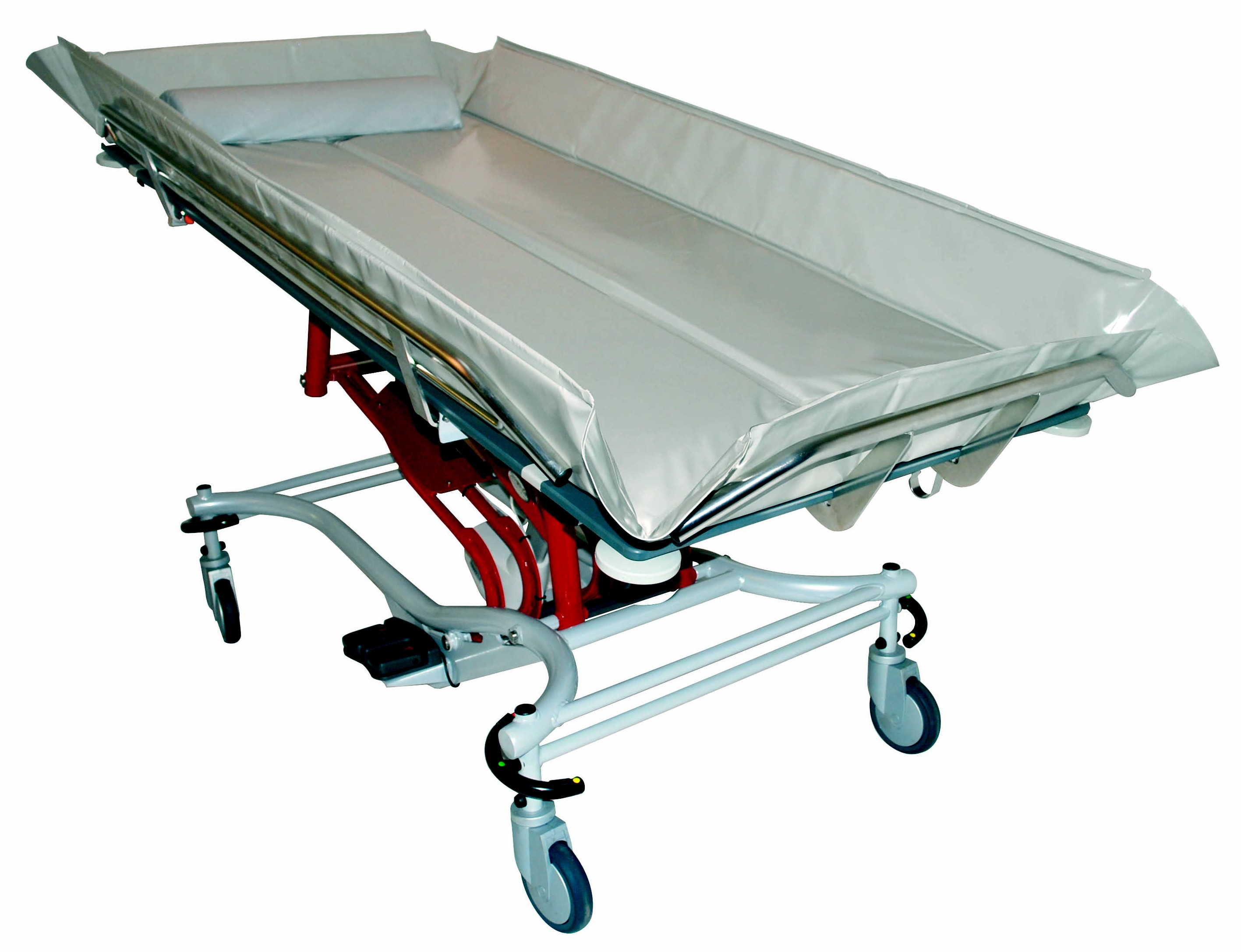 southern mounted amfora shower stretchers ltd productcats wall amilake trolley solutions stretcher