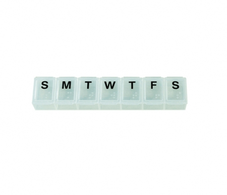 Small Weekly Pill Dispenser