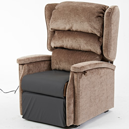 Configura rise and recline dual motor chair living made easy for Dual motor recliner chairs