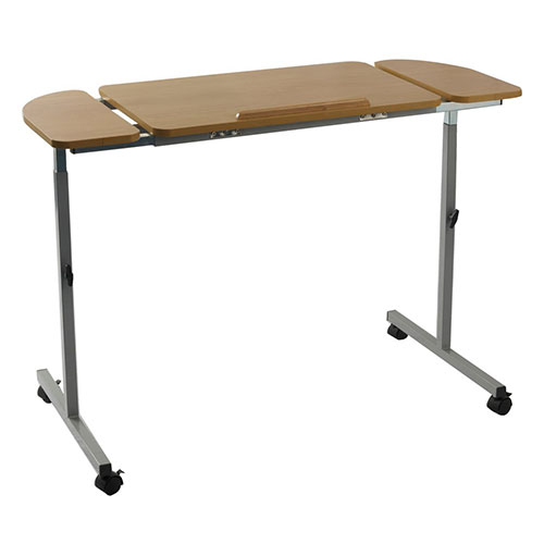 Nrs Adjustable Tilting Over Bed & Over Chair Table Living