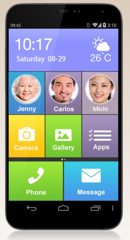 Large Launcher Mobile Phone Interface App 1