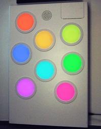 Touch Sound Light Panel