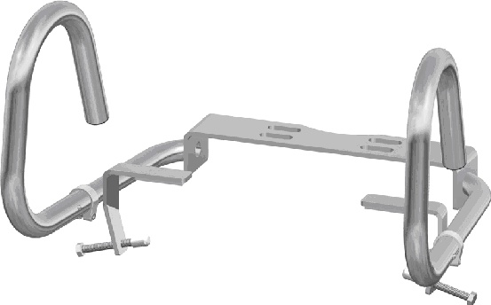 Fold-down Support Rail System