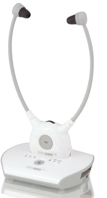 Introson 2.4 Digital Wireless Listener Headset System