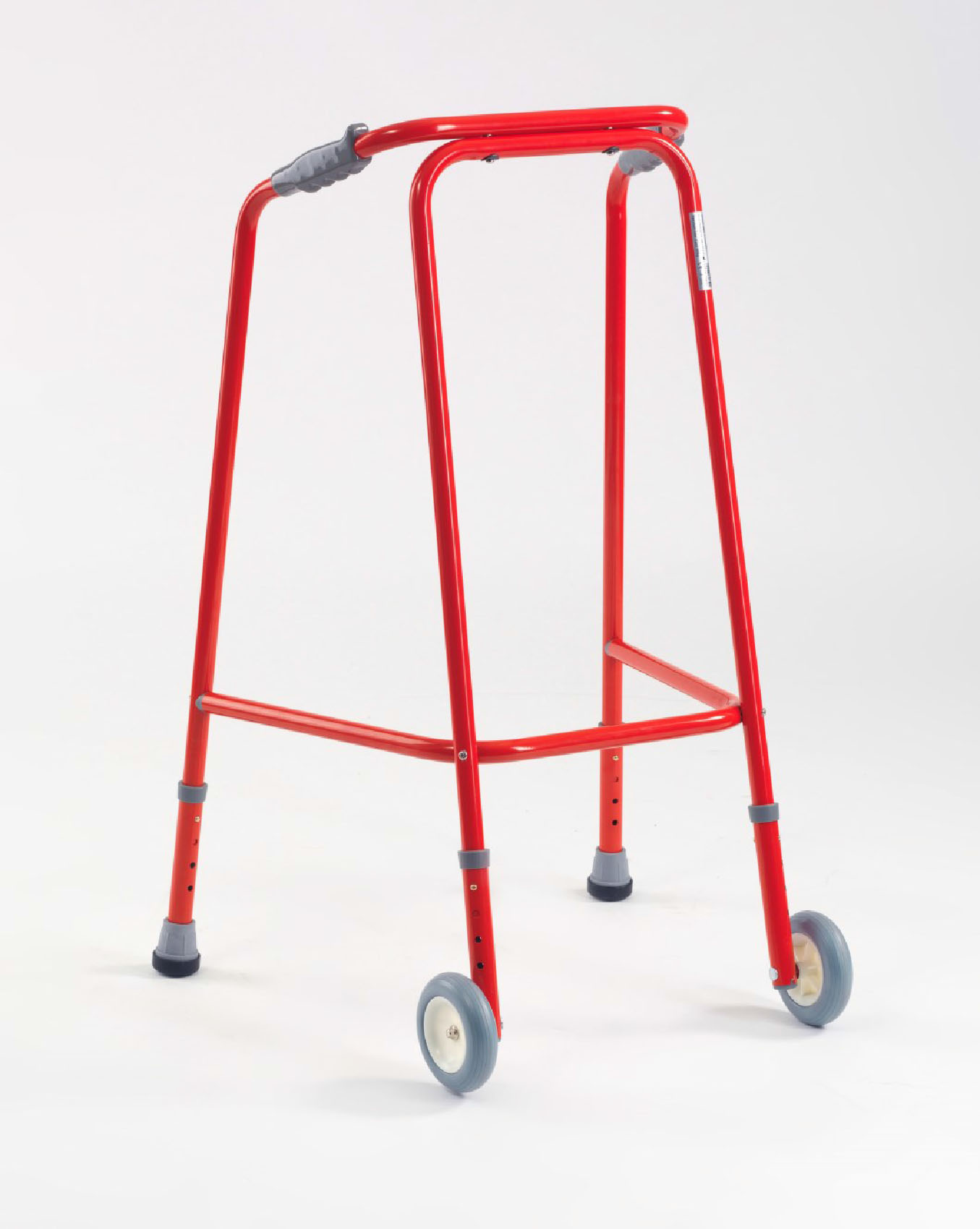 Red Dementia Walking Frame - Living made easy