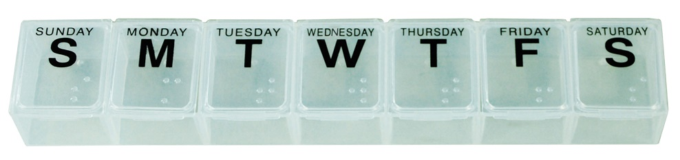 Large Weekly Pill Dispenser