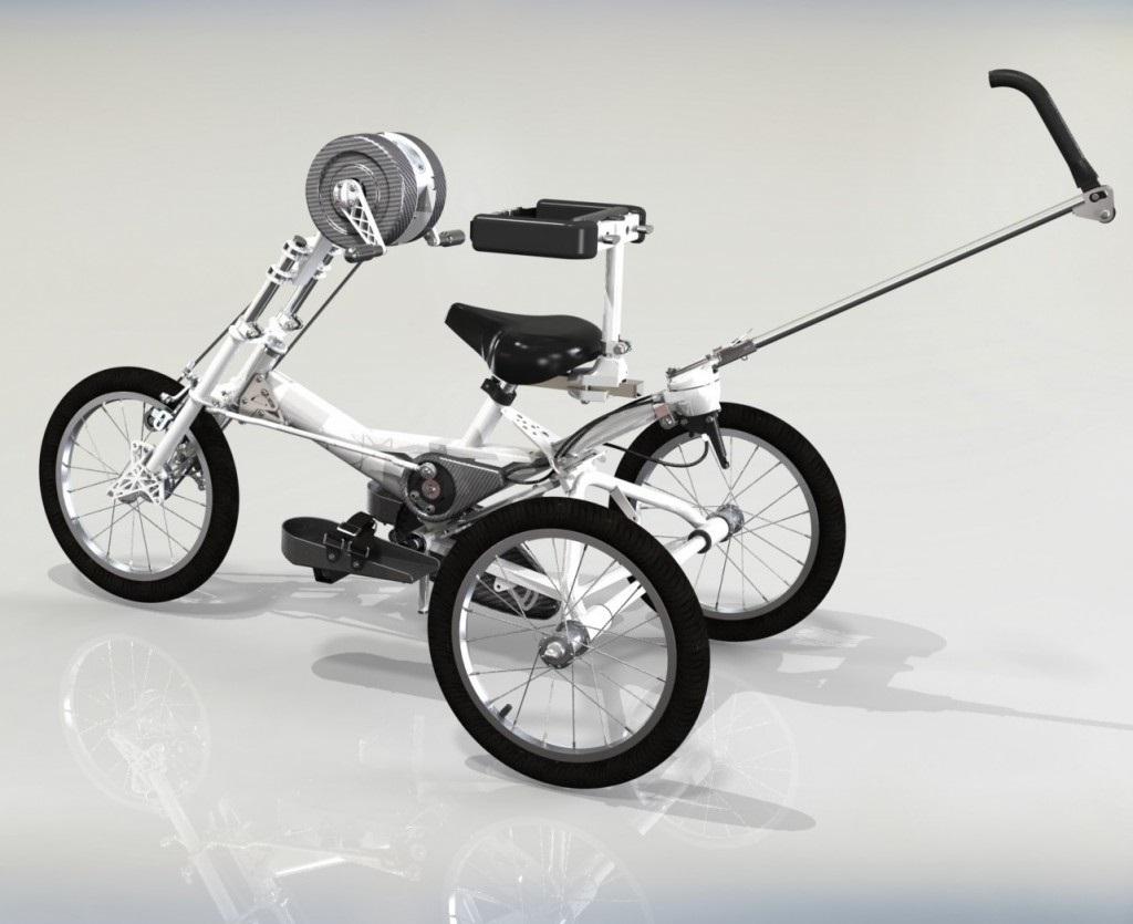 Tomcat Hand Propelled Trike