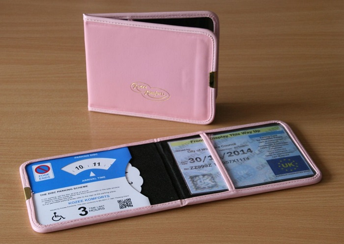 Blue Badge And Parking Clock Wallet 1