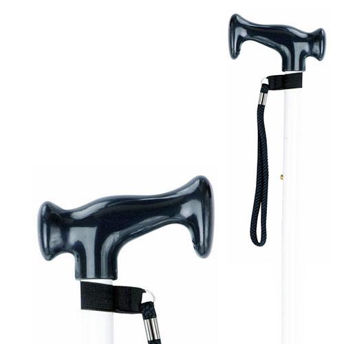 Adjustable Crutch Handle White Stick