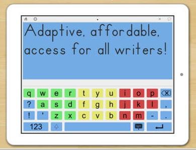 Abilipad Customizable Keyboard App 1
