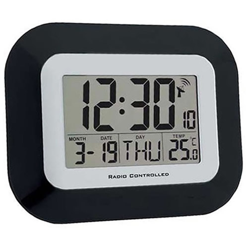 Radio Controlled Digital Calendar Clock