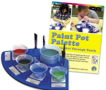 Braille And Tactile Paint And Palette Set