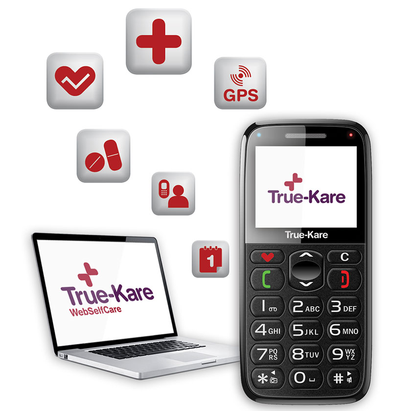 True-kare Mobile Telecare Solution