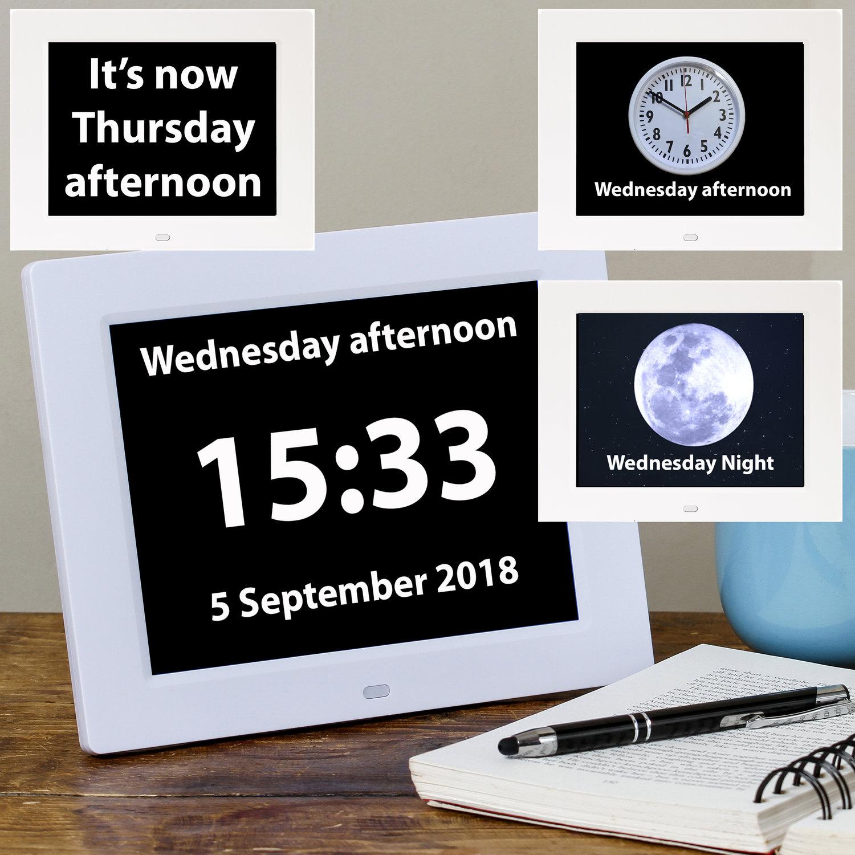 Rosebud Reminder Clock 1