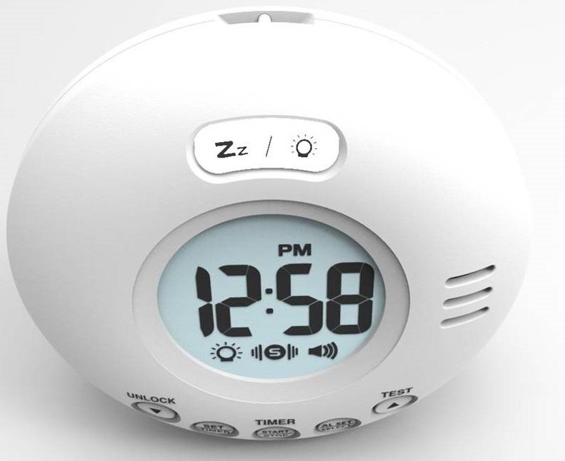 Wake N Shake Voyager Travel Clock With Vibration 1