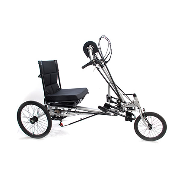 Semi Recumbent Hand Tricycle