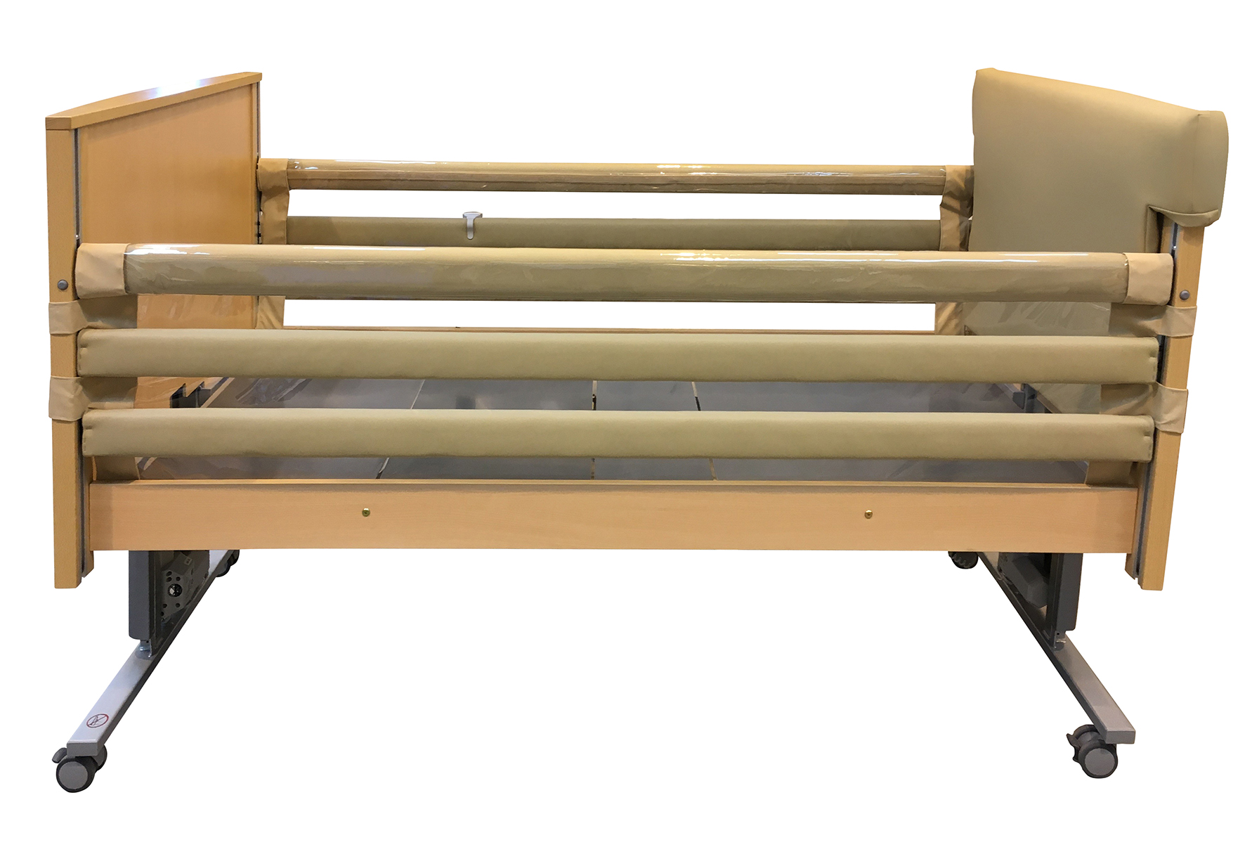 Clear Safety Sides Bed Rail 1