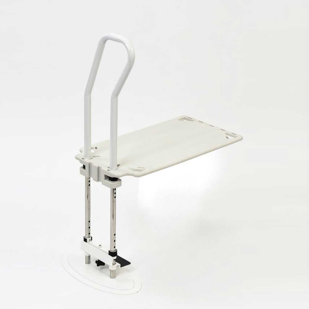 2 In 1 Bed Rail With Floor Stand 1