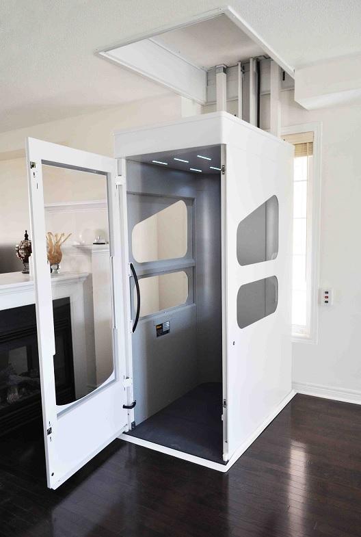 Enclosed Through-floor Home Lift