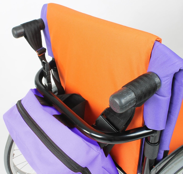 Backpack with Push Handle Loops 1
