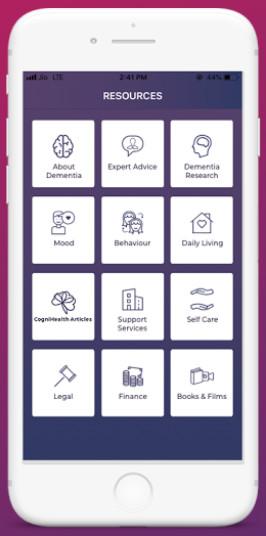 Cognicare Dementia Support App 1