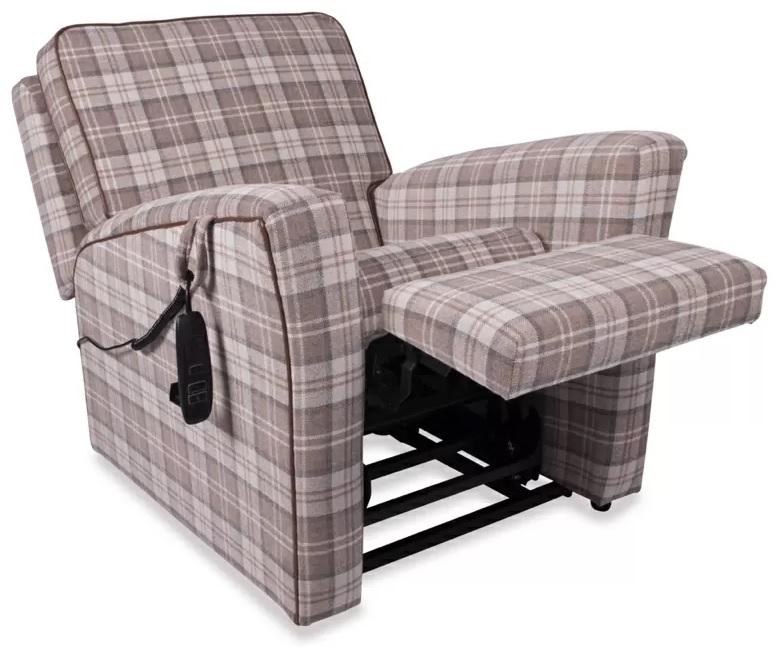 Terrific Buckingham Single Motor Riser Recliner Chair Living Made Easy Creativecarmelina Interior Chair Design Creativecarmelinacom