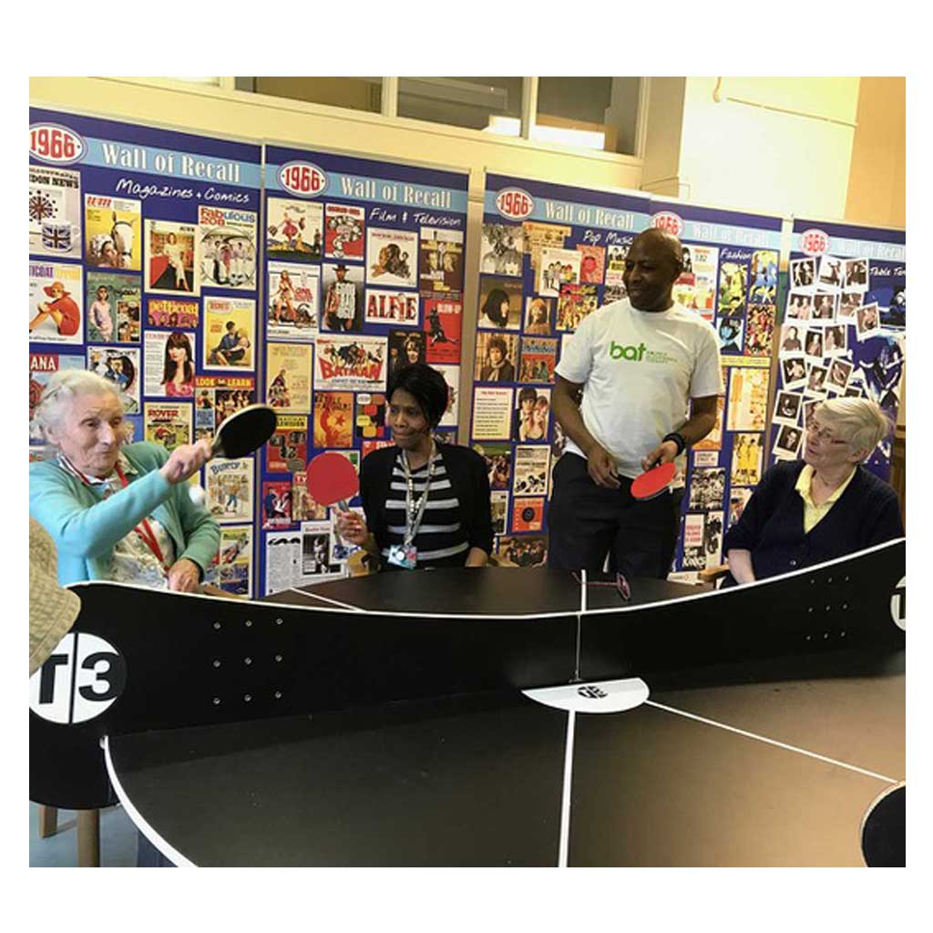 2 In 1 Table Tennis And Dementia Game 1