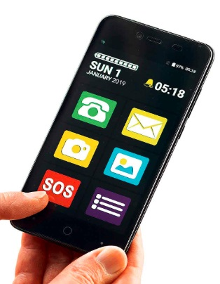 Big Screen Easy To Use Smart Phone 1