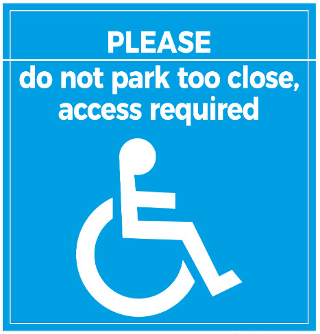 Access Required Disabled Badge 1