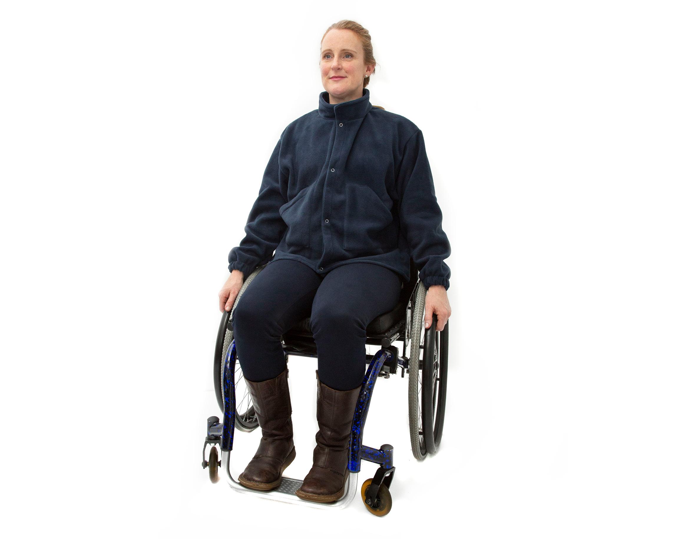 Latest product - Womens Fleece Wheelchair Jacket