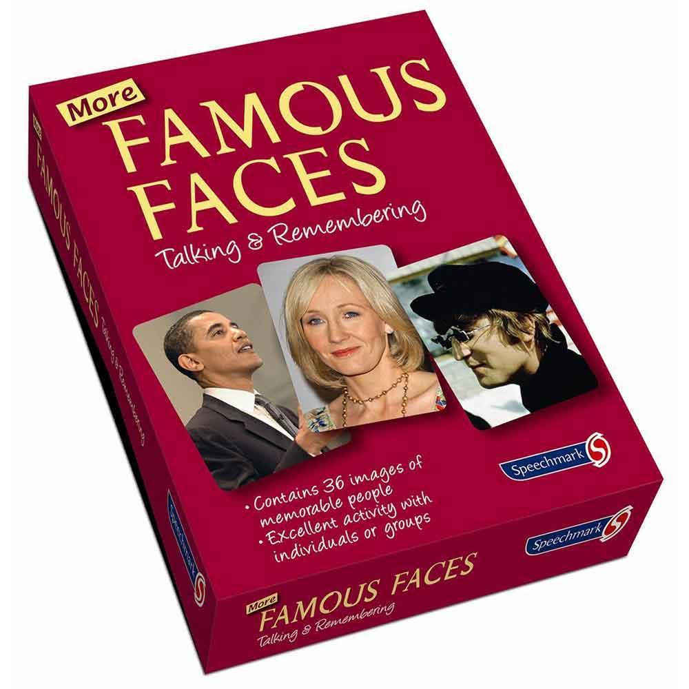 Latest product - Famous Faces Reminiscence Cards