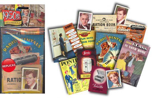 1950s Household Reminiscence Replica Packs 2